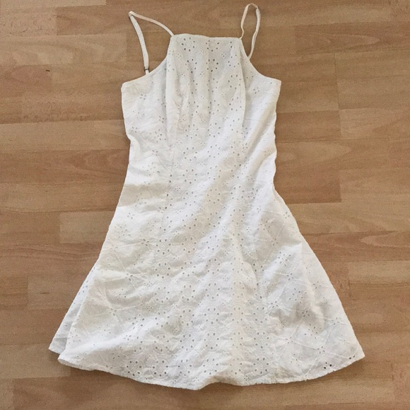 Hollister Dresses & Skirts - Hollister cotton white dress